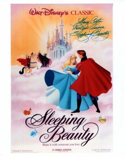 MARY COSTA Signed Autographed DISNEY SLEEPING BEAUTY Photo