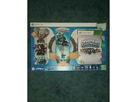 Xbox 360 Skylanders giants starter pack with 16 figure stand