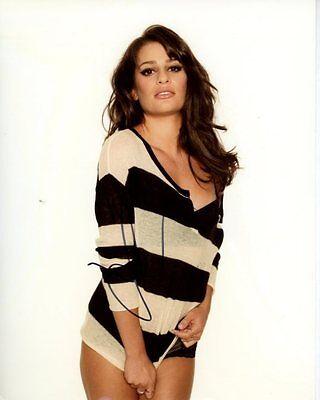 Lea Michele Signed Autographed Photo