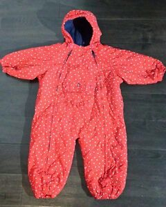 Tommy Hilfiger Baby Infant Winter Bunting Snow Suit 18-24 months