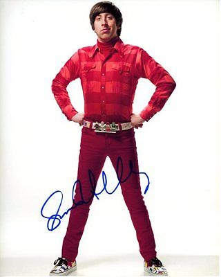 Simon Helberg Signed Autographed The Big Bang Theory Howard Wolowitz Photo