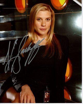 Katee Sackhoff Signed Autograph Battlestar Galactica Kara Starbuck Thrace Photo