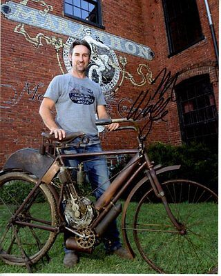 Michael Mike Wolfe Signed Autographed American Pickers Photo  1