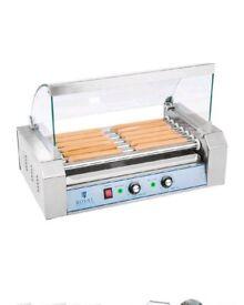 Royal Catering Hot Dog Roller RCHG-7E