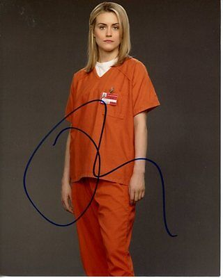 Taylor Schilling Signed Autographed Orange Is The New Black Piper Chapman Photo