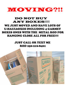 Free Moving Boxes!!!!