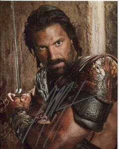 Manu Bennett photo signed In Person -  Spartacus - A482