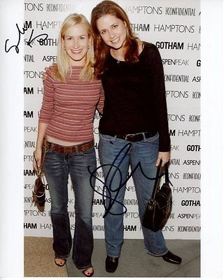 Jenna Fischer   Angela Kinsey Signed Autographed Photo The Office