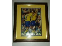 Ljungberg & Pires Signed Arsenal Picture