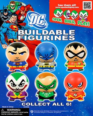 Vending Machine 1.00 Capsule Toys - Dc Comic Buildable Figurines