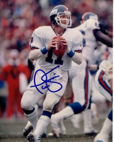 PHIL SIMMS signed autographed NFL NEW YORK GIANTS photo