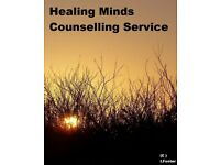 Healing Minds Counselling Service, offering one to one counselling for the North East.