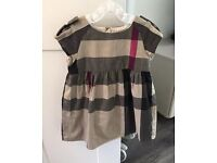 Genuine Burberry girls clothes 2 years/ 18 months