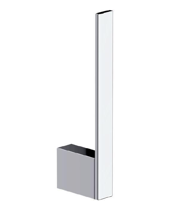 DIETSCHE Design WC-Ersatzrollenhalter Reserverollenhalter NEW YORK chrom