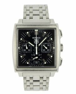 TAG HEUER STAINLESS STEEL MONACO CHRONOGRAPH AUTOMATIC