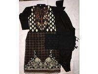 Pakistani Indian Asian clothes stitched suits medium size