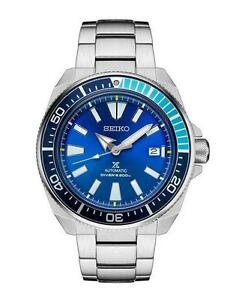 BRAND NEW IN BOX Seiko Prospex Samurai SRPB09 Blue Lagoon LIMITED EDITION (  3  ) YEAR WARRANTY AUTHORIZED DEALER
