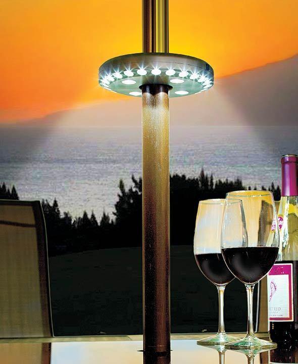 LED  PATIO UMBRELLA LIGHT