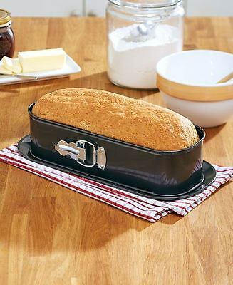 Springform Spring Form Baking Pan 2 Pc French Bread Cake Baker Non Stick Metal