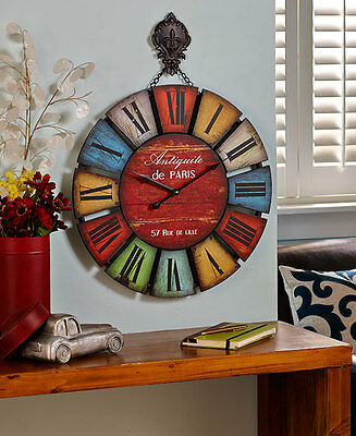 36in classic oversized wall clock oversized