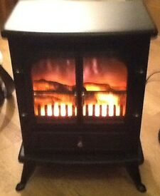 Electric fire (stove type)