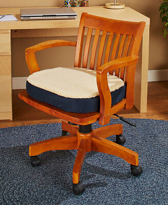 Large Oversized Gel Cushion Office Chair Auto Seat Posture Comfort Relieves Pain - Oversized Office Chair