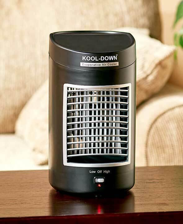 Black Kool - Down Portable Battery Power Evaporative Air Cooler Fan