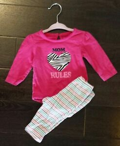 Baby girl fall/winter clothing size 3-6 months