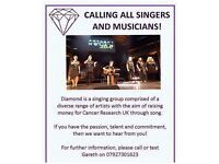 💎Singers wanted to join the amazing Diamond Vocal group