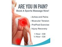 JL Sports Massage Therapy - Only £30/Hour or £20/30mins - Qualified, Insured & Mobile