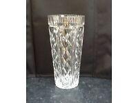 Waterford Crystal 8 inch Vase