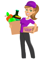 Can do groceries and deliver for you