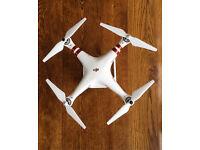 DJI Phantom 3 standard camera drone as new in box