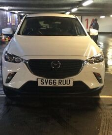 Nearly new White Mazda CX-3 SEL-NAV