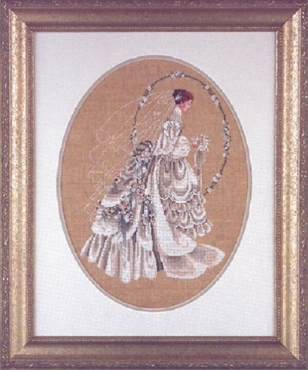 Lavender & Lace Victorian Cross Stitch Charts by Marilyn Lea