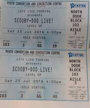 Scooby Doo Live Theatre Tickets ****** Excellent Seats Perth Region Preview