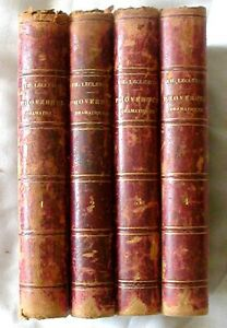 Antique Bks French Proverbes Dramatiques Theodore Leclercq 1851