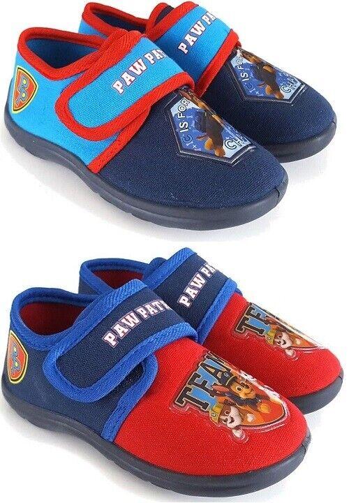 Paw Patrol Hausschuhe Pantoffeln Jungen Kinder 25-31 Chase Marshall NEU