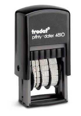 TRODAT® 4810 Printy Datumstempel mit 5 verschiedenen Abdruckfarben erhältlich