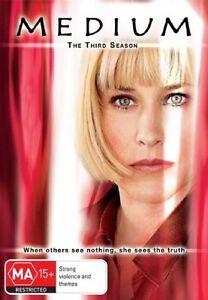 Medium : Season 3 (DVD, 2008, 6-Disc Set)