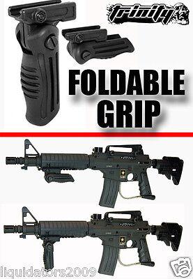 Us Army Alpha Black Grip,Us Army Alpha Black Elite Foldable Grip, Tippmann Parts