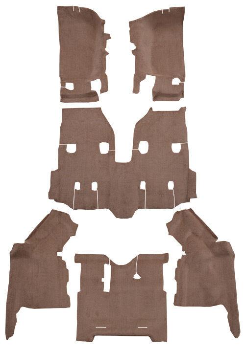 2011-2018 Jeep Wrangler JK Unlimited 4 Door Complete Replacement Carpet Kit