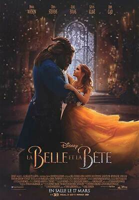 - Beauty and the Beast - original DS movie poster - D/S 27x40 FR