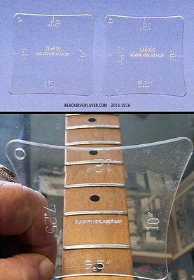 GuitarTechs Luthier BRASS SHIM SET full kit 4 all guitars saddle neck nut