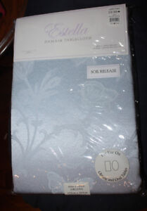 """Estella Damask Table Cloth 60"""" X 104"""" new in package"""