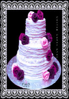 Custom wedding cakes, character cakes,handcrafted edible toppers