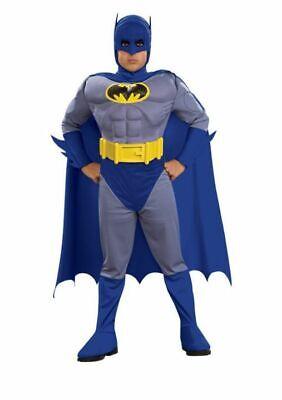 Rubies Muscle Chest Batman Halloween Costume  Boys Toddler Size 2T - Rubies Muscle Chest Batman Toddler Halloween Costume