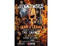 2 x Dead Daisies Tickets @ The Garage Glasgow 8th April 2018