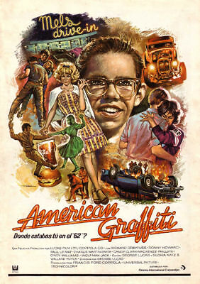 American Graffiti Ron Howard Movie Poster Print