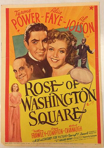 ROSE OF WASHINGTON SQUARE!